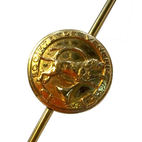 meilleur en ligne vraiment pas cher style top Épingle de cravate en métal dorée