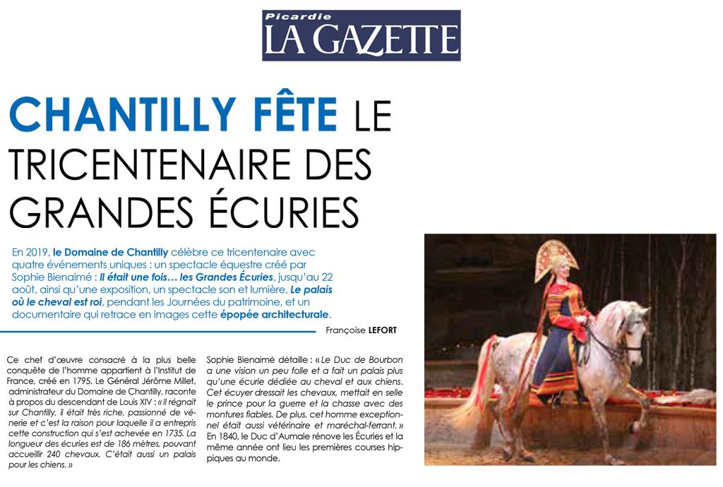 lettre des amis de  la vénerie N°5 extraits - Page 2 Picardie_lagazette